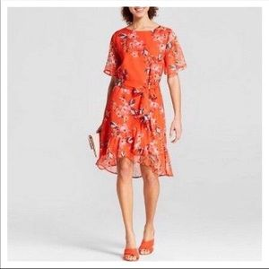 A New Day Sheer Floral Dress